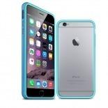 Visuel unique de Coque Bumper iPhone 6 Plus HQ Bleue