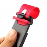 Vue portée de Support voiture Steerhold pour volant Universel - 5,5cm a 7,5cm
