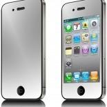 Visuel unique de Pack 10 Films de protection (5 Avant + 5 Arrière) Miroir pour iPhone 4 / 4S