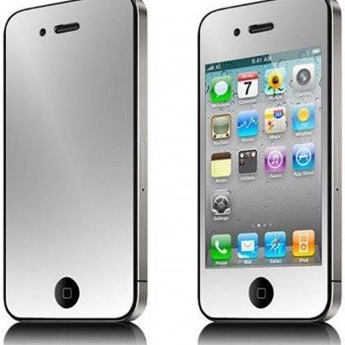 Pack 6 Films de protection (3 Avant + 3 Arrière) Miroir pour iPhone 4 / 4S