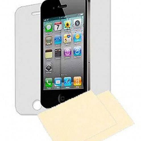 Pack 6 Films de protection (3 Avant + 3 Arrière) HQ pour iPhone 4 / 4S