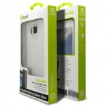 Visuel unique de Coque Samsung Galaxy Alpha Minigel Skin Muvit Transparent
