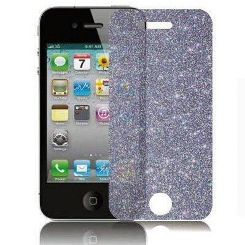 Visuel unique de 2 Films de protection DIAMANT HQ pour iPhone 4 / 4S