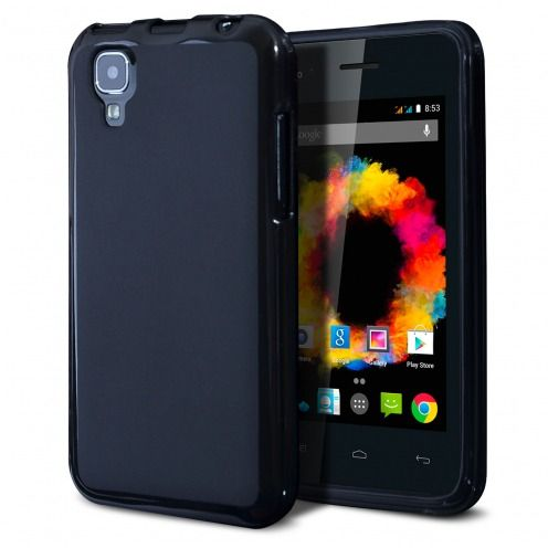 Coque Wiko Sunset Frozen Ice Extra Fine Noir opaque