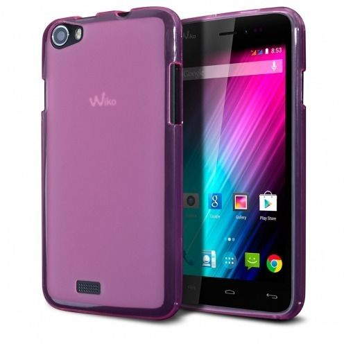 Coque Wiko Lenny Frozen Ice Extra Fine Rose