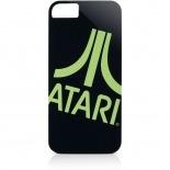 Vue complémentaire de Coque iPhone 5 / 5S Gear4 Collector ATARI Noir Vert