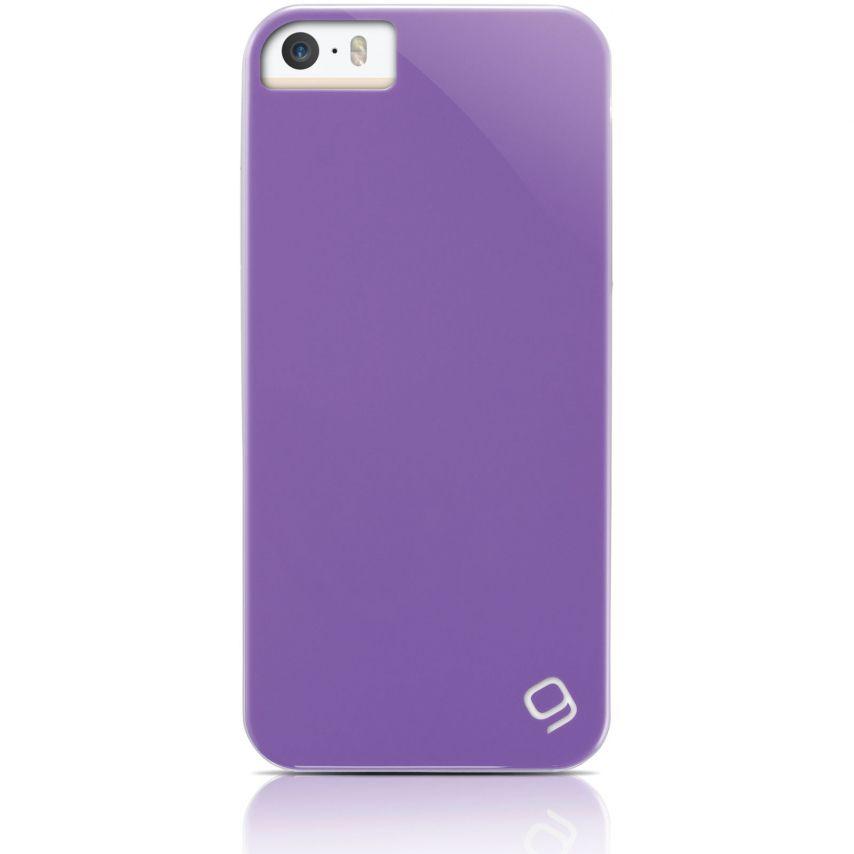 Visuel unique de Coque iPhone 5 / 5S Gear4 Pop Colors Violet
