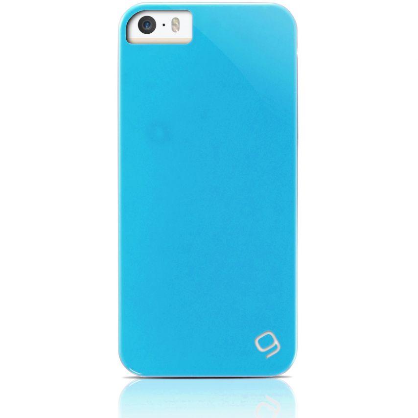 Visuel unique de Coque iPhone 5 / 5S Gear4 Pop Colors Bleu