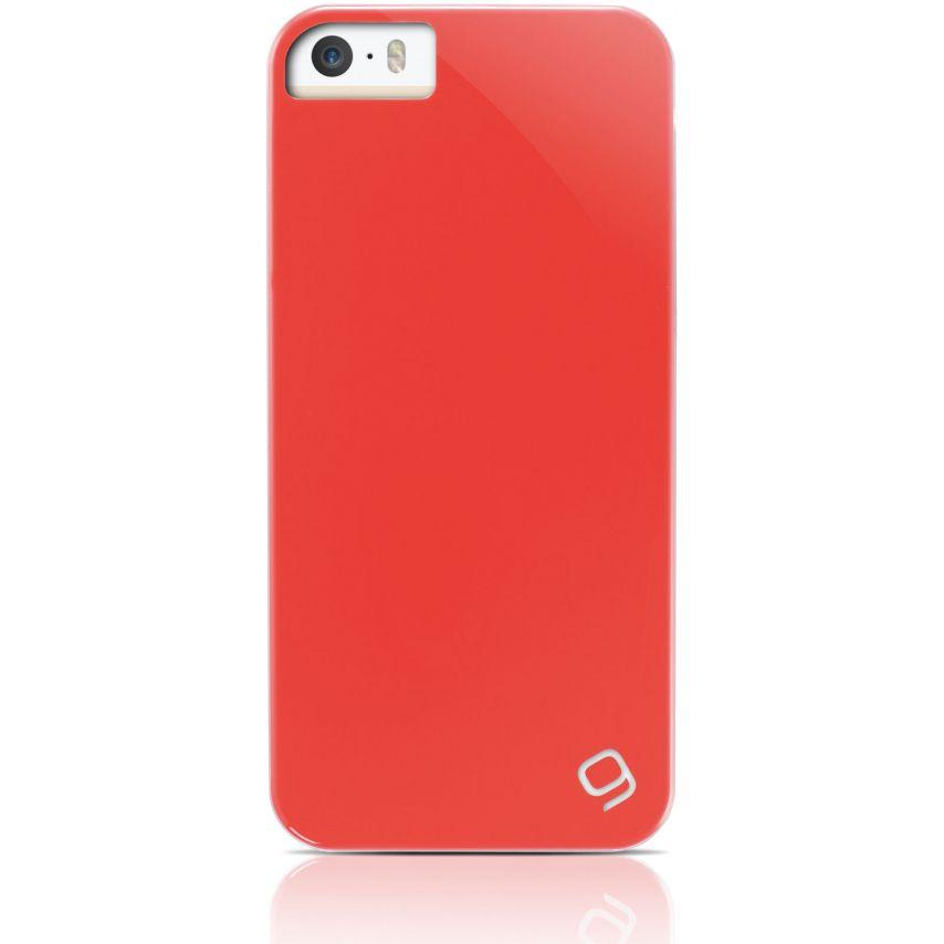 Visuel unique de Coque iPhone 5 / 5S Gear4 Pop Colors Rouge