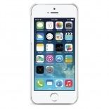 Vue complémentaire de Coque iPhone 5 / 5S iLuv Festival Design Blanc
