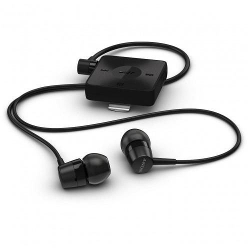 Photo réelle de Ecouteurs Sony SBH20 Kit Piéton Bluetooth NFC Stéréo Noir