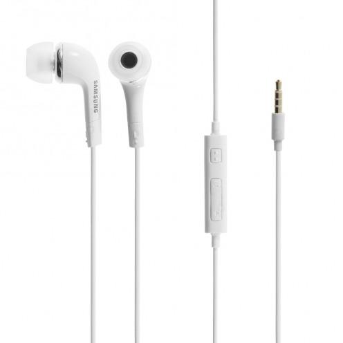 Vue détaillée de Ecouteurs / Kit Piéton IN-EAR Blanc EHS64AVFWE Origine Samsung
