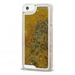 Visuel supplémentaire de Coque Crystal Glitter Liquid Diamonds Or iPhone 5/5S