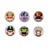 Visuel unique de Home Sticker Autocollant bouton Home iPhone 3GS / 4 / 4S Design Manga