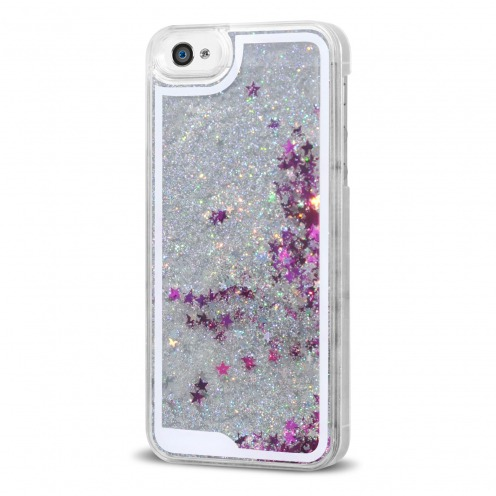 coque paillette iphone 4