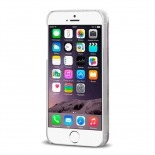 Vue complémentaire de Coque Crystal Glitter Liquid Diamonds Rouge iPhone 6
