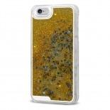 Visuel supplémentaire de Coque Crystal Glitter Liquid Diamonds Or iPhone 6