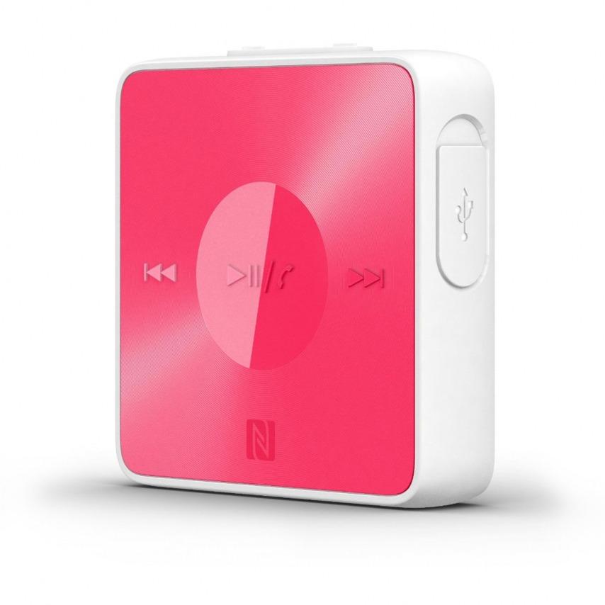 Visuel unique de Ecouteurs Sony SBH20 Kit Piéton Bluetooth NFC Stéréo Rose