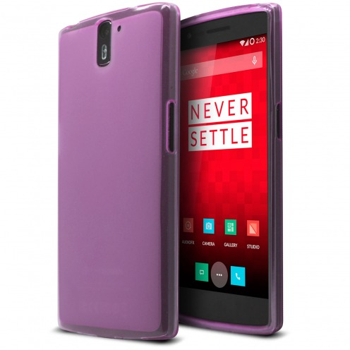Coque OnePlus One Frozen Ice Extra Fine Rose