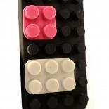 """Visuel supplémentaire de Coque Blocs Design """"LEGO"""" Noire iPhone 4s / 4"""