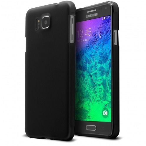 Coque Galaxy Alpha Frozen Ice Extra Fine Noir opaque