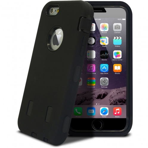 """Visuel unique de Coque Antichoc """"ULTIMATE"""" pour iPhone 6 Plus Noire"""