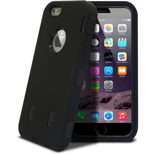 "Coque Antichoc ""ULTIMATE"" pour iPhone 6 Plus Noire"