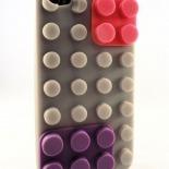 """Visuel supplémentaire de Coque Blocs Design """"LEGO"""" Grise iPhone 4s / 4"""