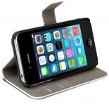 Vue complémentaire de Smart Folio Cover iPhone 4 / 4S à motif Chouette Electrique