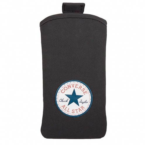 Etui Pouch iPhone 4/4S Converse All Star® Daim Noir - Taille L