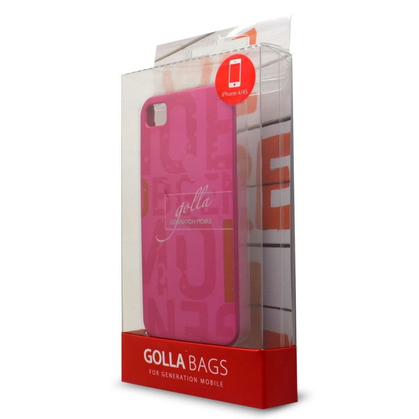 Vue complémentaire de Coque Extra Fine iPhone 4/4S Golla Collection Hetty Rose