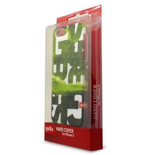 Vue détaillée de Coque Extra Fine iPhone 5S/5 Golla Collection Steve Vert