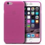 Vue complémentaire de Coque iPhone 6 Frozen Ice Extra Fine Rose