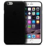 Vue complémentaire de Coque iPhone 6 Frozen Ice Extra Fine Noir opaque