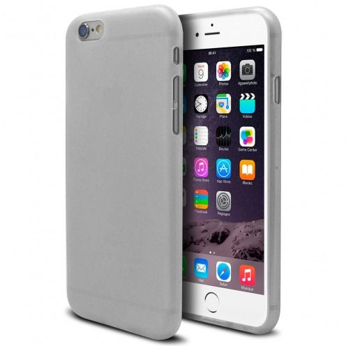 Coque iPhone 6 Plus Frozen Ice Extra Fine Blanc
