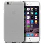 Vue complémentaire de Coque iPhone 6 Plus Frozen Ice Extra Fine Blanc