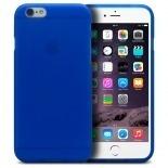Vue complémentaire de Coque iPhone 6 Plus Frozen Ice Extra Fine Bleu