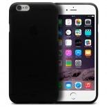 Vue complémentaire de Coque iPhone 6 Plus Frozen Ice Extra Fine Noir opaque