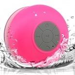 Visuel supplémentaire de Enceinte Bluetooth AquaSound Résistante à l'eau pour SDB et Douche - Rose