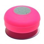 Vue complémentaire de Enceinte Bluetooth AquaSound Résistante à l'eau pour SDB et Douche - Rose