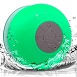 Visuel supplémentaire de Enceinte Bluetooth AquaSound Résistante à l'eau pour SDB et Douche - Vert