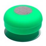 Vue complémentaire de Enceinte Bluetooth AquaSound Résistante à l'eau pour SDB et Douche - Vert