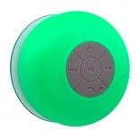Vue portée de Enceinte Bluetooth AquaSound Résistante à l'eau pour SDB et Douche - Vert