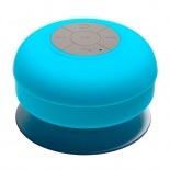 Vue complémentaire de Enceinte Bluetooth AquaSound Résistante à l'eau pour SDB et Douche - Bleu