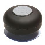 Vue complémentaire de Enceinte Bluetooth AquaSound Résistante à l'eau pour SDB et Douche - Noir