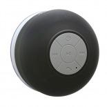 Vue portée de Enceinte Bluetooth AquaSound Résistante à l'eau pour SDB et Douche - Noir