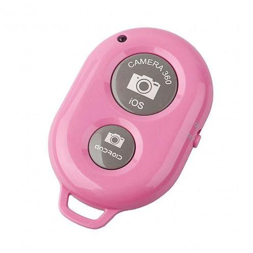 Télécommande Bluetooth 3.0 RemoteShutter pour Selfiestick Rose