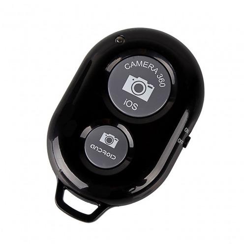Visuel unique de Télécommande Bluetooth 3.0 RemoteShutter pour Selfiestick Noir