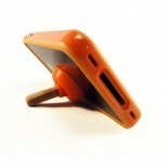 "Visuel supplémentaire de Mini Support iPhone ""Stand Sucker"" Ventouse  Orange 3G/S 4 / 4S"