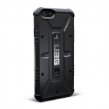 Zoom sur Coque Antichoc iPhone 6 Urban Armor Gear UAG Scout Noir